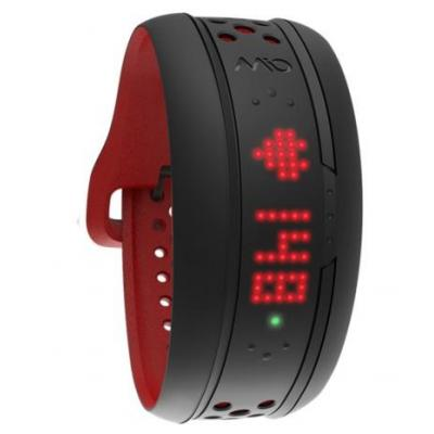 Medisana wearable: Mio FUSE - Zwart, Rood