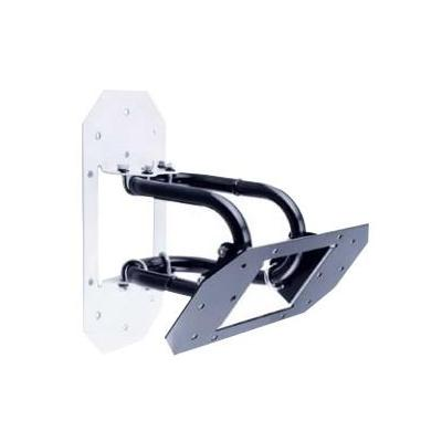 Peerless speakersteun: Universal Speaker Mounts For Speakers up to 75lbs (34kg), ±45° Tilt, Black - Zwart
