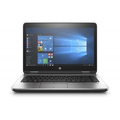 HP laptop: ProBook 640 G3 i5-7200U  256GB - Zilver