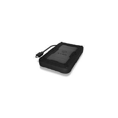 ICY BOX IB-AC603P-C31 Behuizing - Zwart