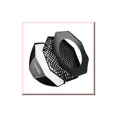 Walimex softbox: pro Octa Softbox PLUS OL Ø170 Elinchrom - Zwart
