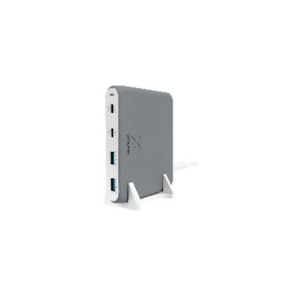 Xtorm 2 x USB 5V/2,4A (36W),1 x USB-C PD (60W) 1 x USB-C PD (30W), QC 3.0 Oplader - Grijs
