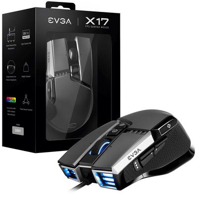 EVGA X17 Muis - Grijs