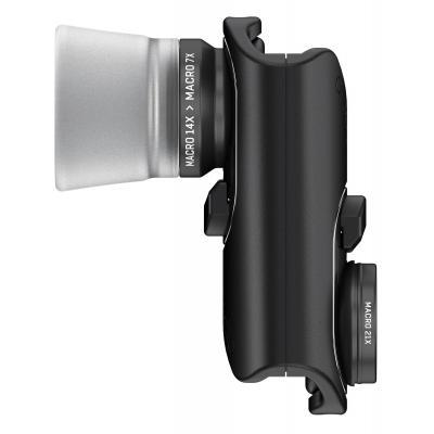 Olloclip : Macro Pro Lens Set - Zwart, Zilver