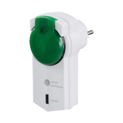 Hama power extrention: Remote Controlled Socket, outdoor - Groen, Wit