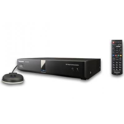 Panasonic 1080p 30/60 fps, 256 kbps - 18 Mbps, SIP, H.323, H.261, H.263, H.264, HDMI, VGA, RCA, RJ-45, USB .....