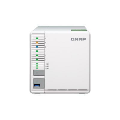QNAP TS-332X NAS - Grijs, Wit