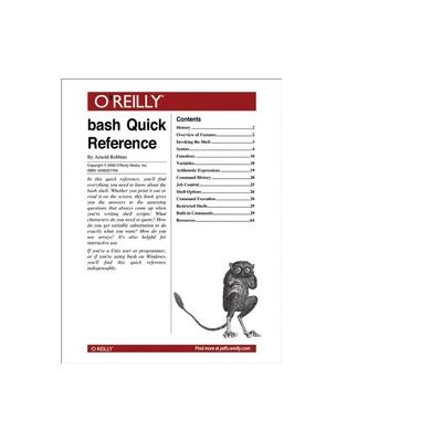 O'reilly boek: Media bash Quick Reference - eBook (PDF)