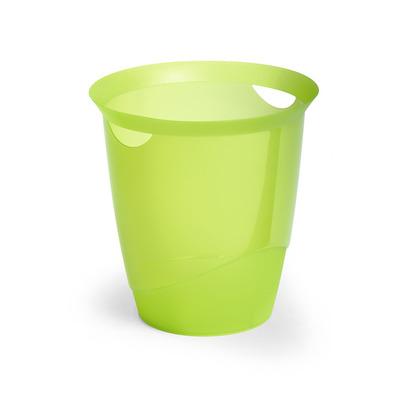 Durable prullenbak: TREND - Groen, Doorschijnend