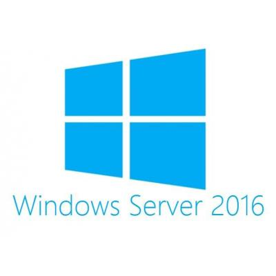 Dell software licentie: MS Windows Server 2016, 10 CALs, ROK