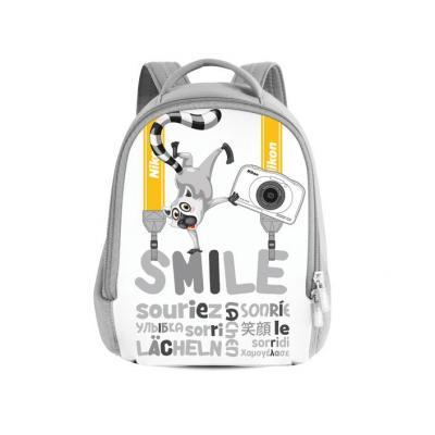 Nikon Kids Backpack white Cameratas - Grijs, Wit