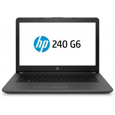 HP 240 G6 laptop - Zwart
