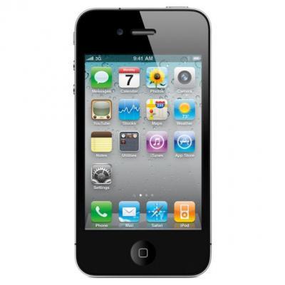 Apple smartphone: iPhone 4s 16GB Refurbished - Zwart 32GB (Refurbished LG)