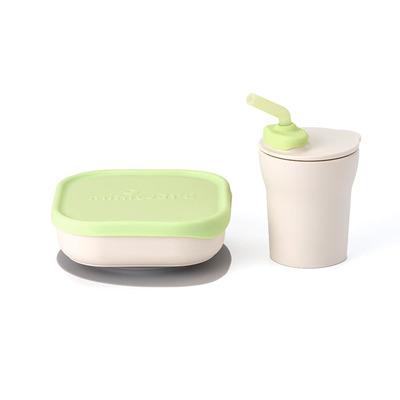 Miniware Sip & Snack - Groen
