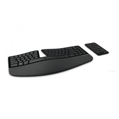 Microsoft toetsenbord: Sculpt Ergonomic Keyboard - Zwart