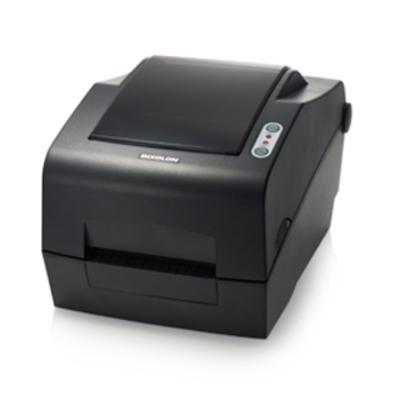 Bixolon 300dpi, 127mm/sec, Cutter, Parallel, Serial, USB, Dark Gray Labelprinter - Zwart