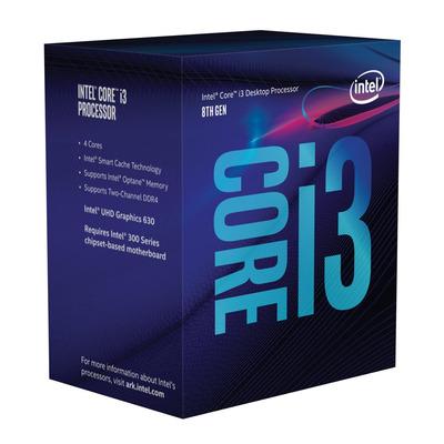 Intel processor: Core i3-8300