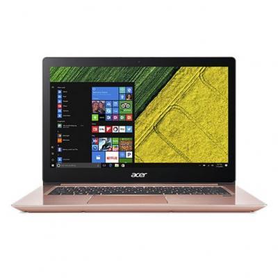 Acer laptop: Swift SF314-52-P52M - Zwart, Roze, QWERTY
