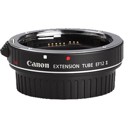Canon EF 12 II Lens adapter - Zwart