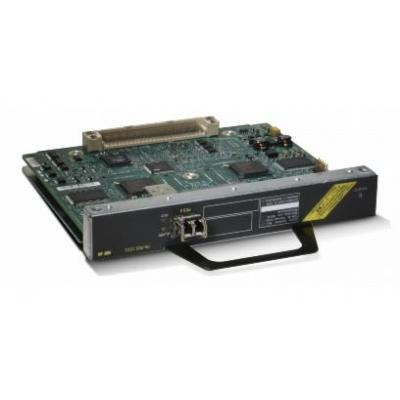 Cisco netwerkkaart: 1-Port OC-3/STM-1 POS Port Adapter, Refurbished - Grijs, Zilver