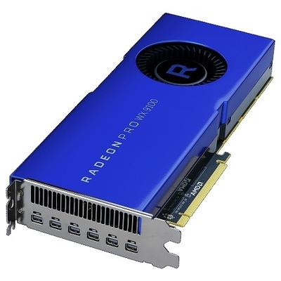 DELL AMD Radeon Pro WX 9100, 16GB High Bandwidth Memory 2 (HBM2), 2048 bit, PCI Express x16 3.0, 6 x mDP (1.4), .....