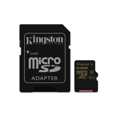 Kingston Technology SDCA10/64GB flashgeheugen