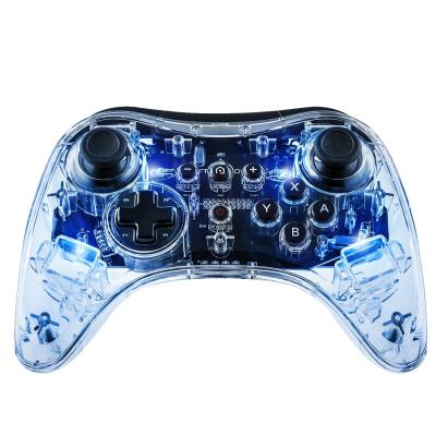 Afterglow game controller: - Wireless Pro Controller (Blauw)  Wii U