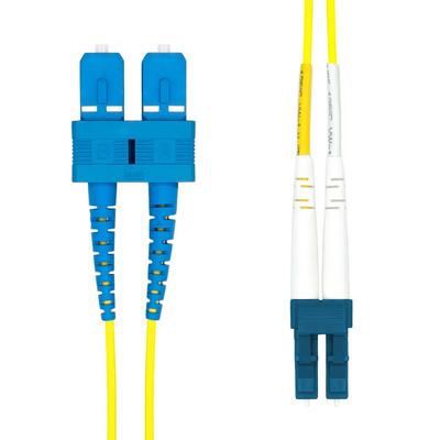 ProXtend LC-SC UPC OS2 Duplex SM Fiber Cable 3M Fiber optic kabel - Geel