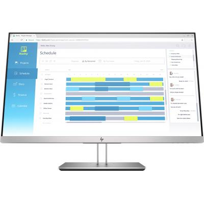 "HP EliteDisplay E273d 27"" Full HD IPS Monitor - Zwart, Zilver"