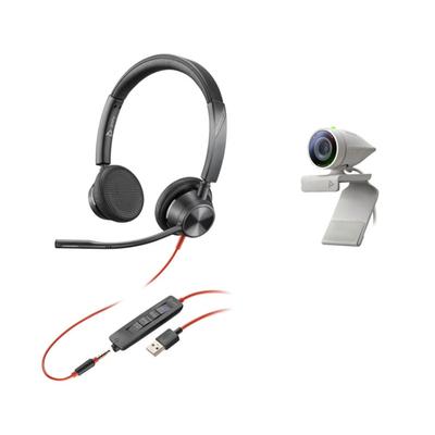 POLY Studio P5 Kit Videoconferentie systeem - Zwart,Grijs