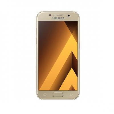 Samsung smartphone: Galaxy A3 (2017)  - Goud 16GB