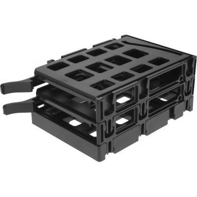 Corsair Computerkast onderdeel: 350D 2 SSD Cage Kit - Zwart