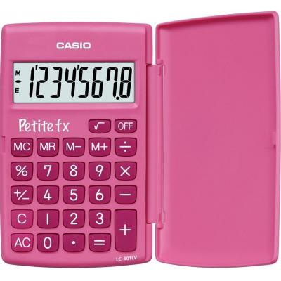 Casio calculator: Rekenmachine Petit-FX Roze