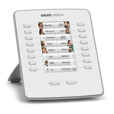 Snom IP add-on module: Vision - Grijs