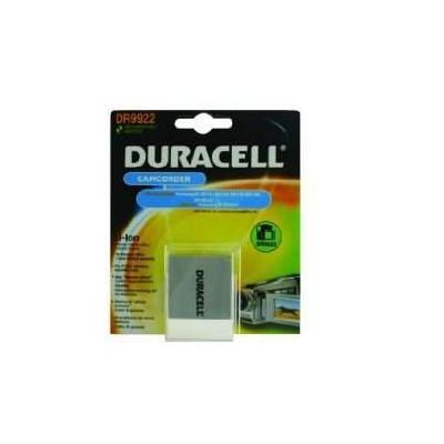 Duracell batterij: Camcorder Battery 7.4v 720mAh 5.3Wh - Wit