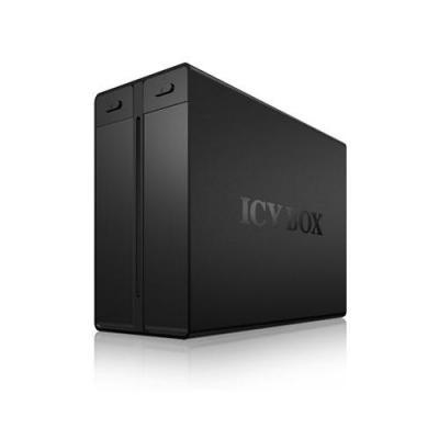 Icy box SAN: IB-3662U3 - Zwart