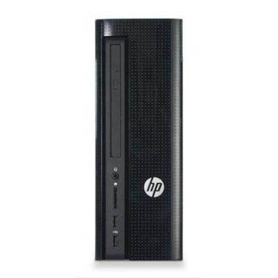 Hp pc: Slimline 260-a105nd - Zwart