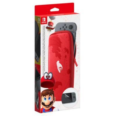 Nintendo spel accessoire: Switch Accessory Set, Super Mario Odyssey Edition