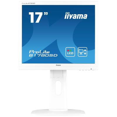 "Iiyama monitor: ProLite B1780SD-W1 17"" SXGA TN - Business - Wit"