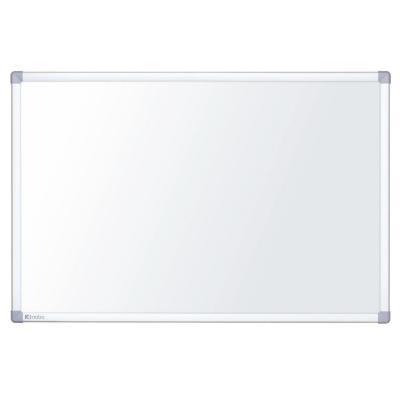Nobo whiteboard: Nano Clean - Aluminium, Wit