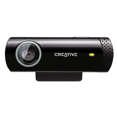 Creative labs webcam: Live! Cam Chat HD - Zwart