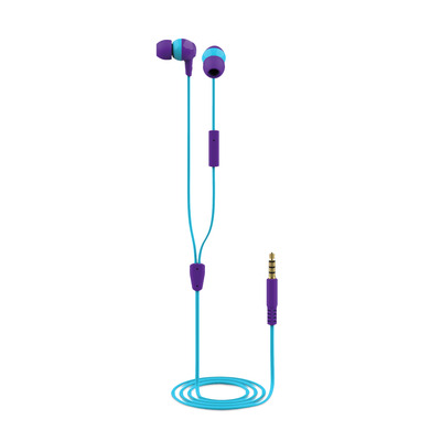 Trust Buddi Kids In-Ear Headphones- purple Headset