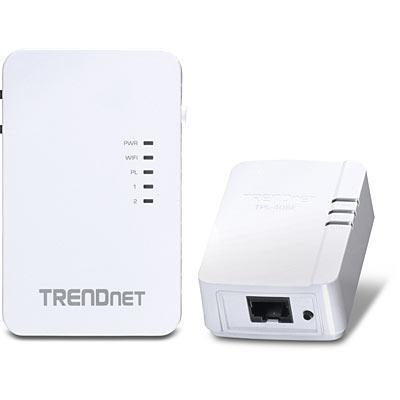 Trendnet powerline adapter: TPL-410AP + TPL-406E kit - Wit