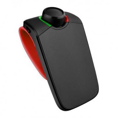 Parrot telefoonspeaker: MINIKIT Neo 2 HD - Zwart, Rood