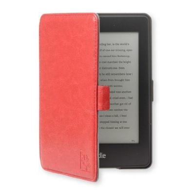 Gecko covers e-book reader case: Folio case for Amazon Kindle, Black/Red - Zwart, Rood