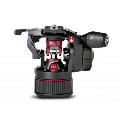 "Manfrotto 8kg Capacity, 3/8"", 2.2kg, Aluminium, Black/Red Statiefkop - Zwart, Rood"