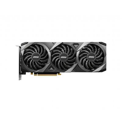 MSI GeForce RTX 3060 Ti VENTUS 3X OC Videokaart - Zwart,Grijs