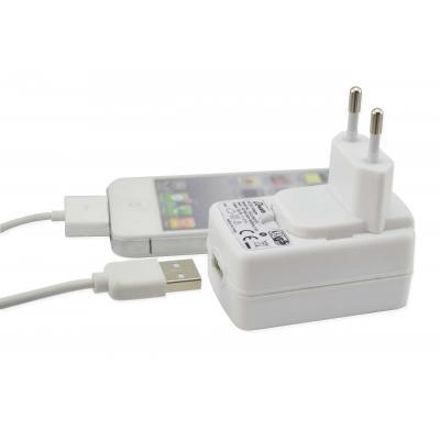 Qware batterij: Qware, AC Adapter voor Apple 30 pins