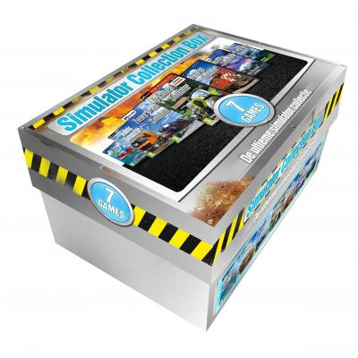Msl game: Simulator Collection Box (7 Games)  Shoebox