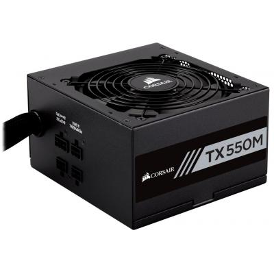 Corsair TX550M Power supply unit - Zwart
